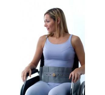 Cinturón abdominal silla/sillón, cierre imán delantero y trasero