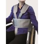 Cinturón sujeción tronco y pelvis con cierre magnetico